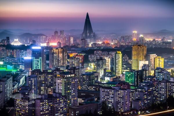 Kuzey Kore Başkenti Pyongyang
